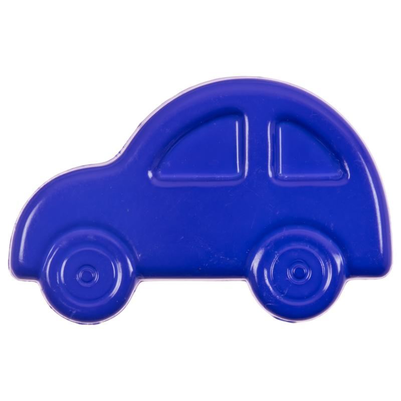 Kinderknopf - Auto in Blau
