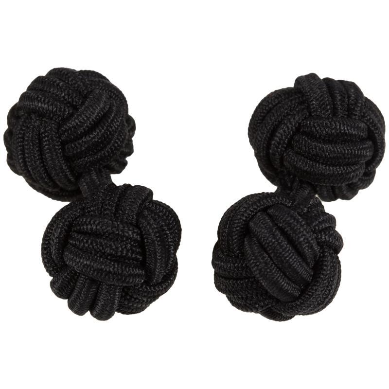 posamenten manschettenkn pfe elastisch in schwarz. Black Bedroom Furniture Sets. Home Design Ideas