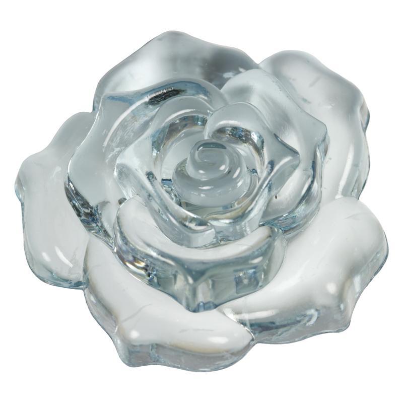 Schmuckstück  Rosenblüte durchsichtig - ein perfektes Schmuckstück im hel