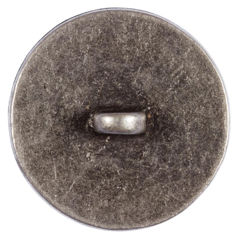 trachtenknopf aus metall in altsilber mit hirschmotiv. Black Bedroom Furniture Sets. Home Design Ideas