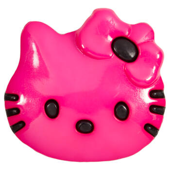 Kinderknopf Hello Kitty in Pink