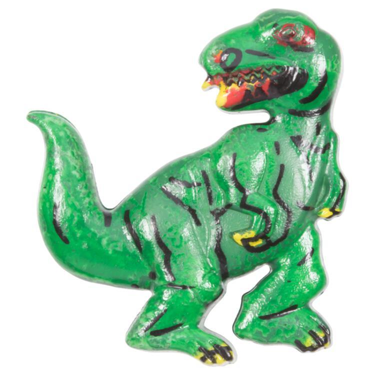 Kinderknopf Dinosaurier In Grün