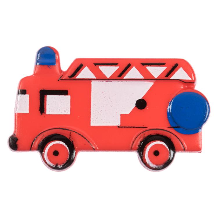 Kinderknopf Rotes Feuerwehrauto