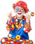 gelbe Karnevalsknöpfe